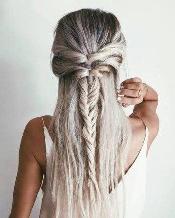 Trecce particolari per capelli lunghi