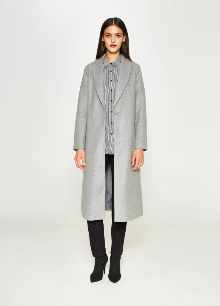 Cappotto lungo melange by OVS.