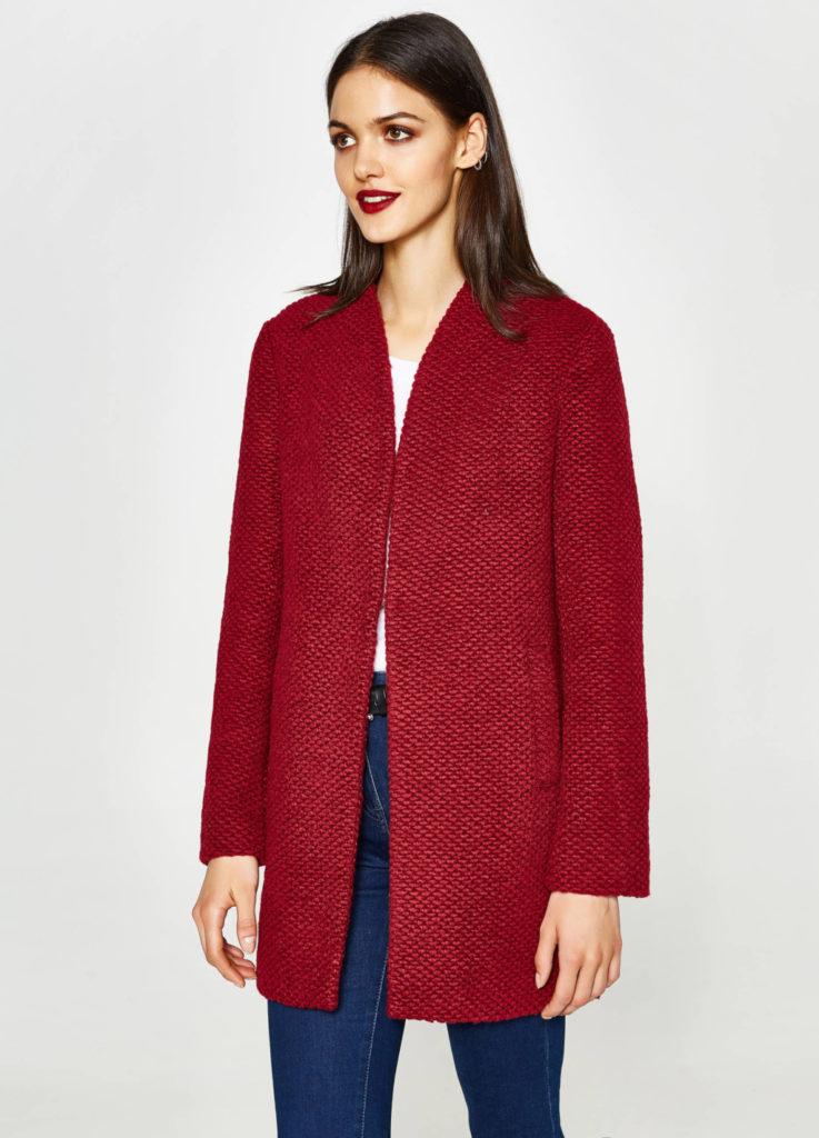 Cappotto corto tricot by OVS.