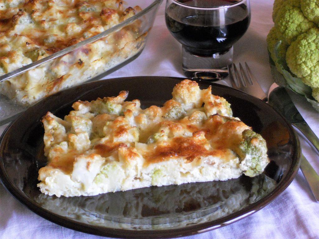 Cavolfiore gratinato al parmigiano