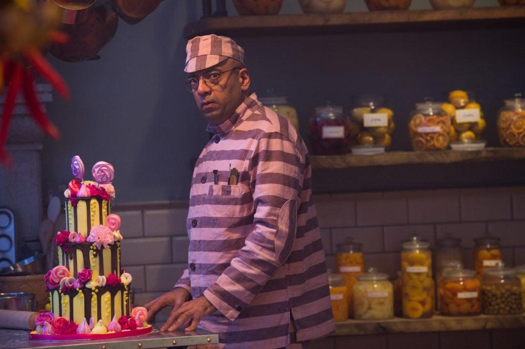 Knuckles McGinty, il cuoco della prigione (Brendan Gleeson).