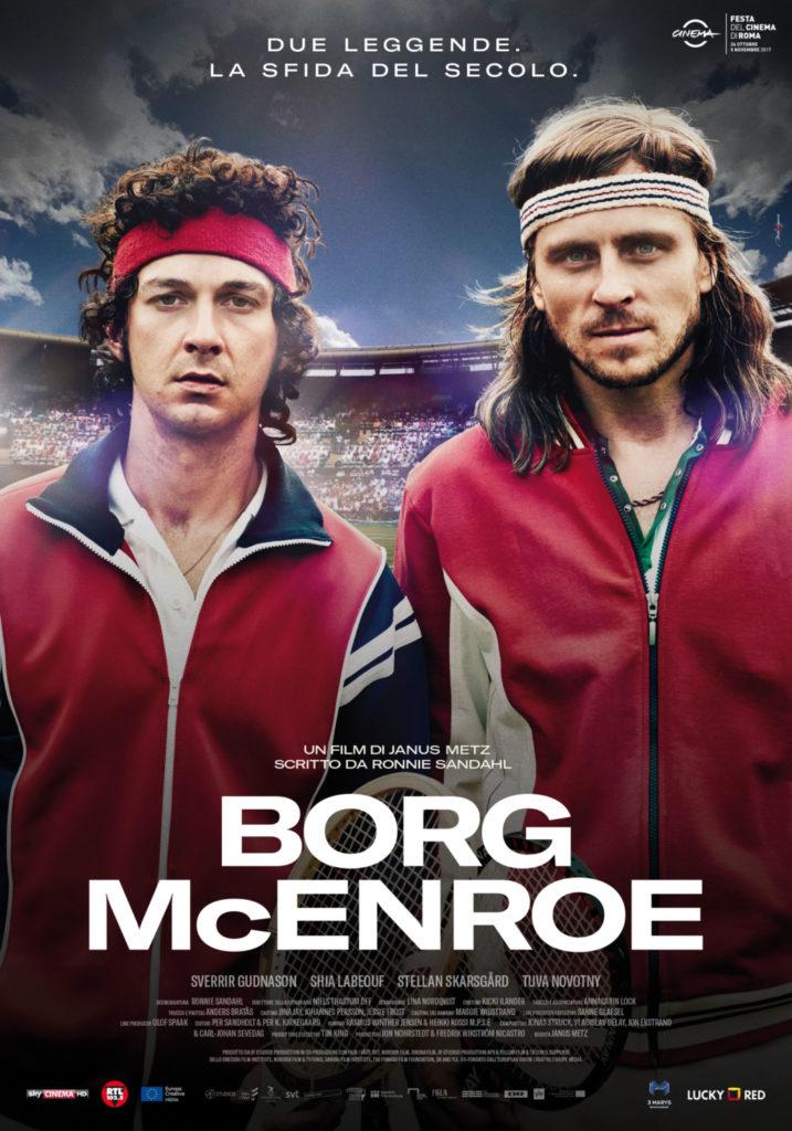 Borg Mc Enroe arriverà nelle sale giovedì 9 novembre, distribuito da Lucky Red.