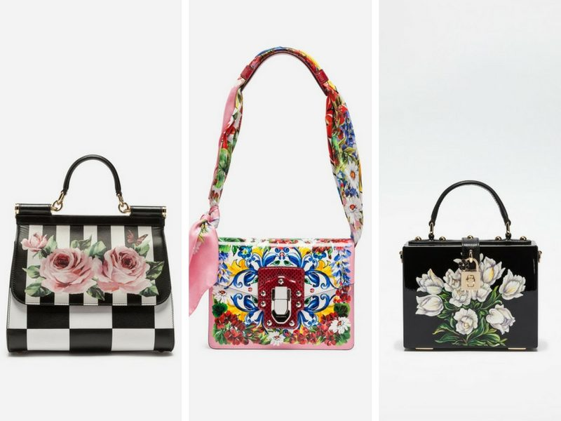 Dolce   Gabbana  borse dipinte a mano  5bd4c217ade