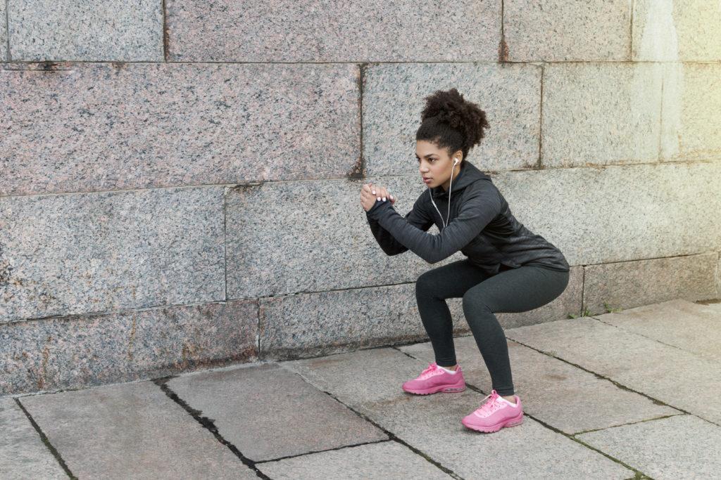 Posizione corretta squat