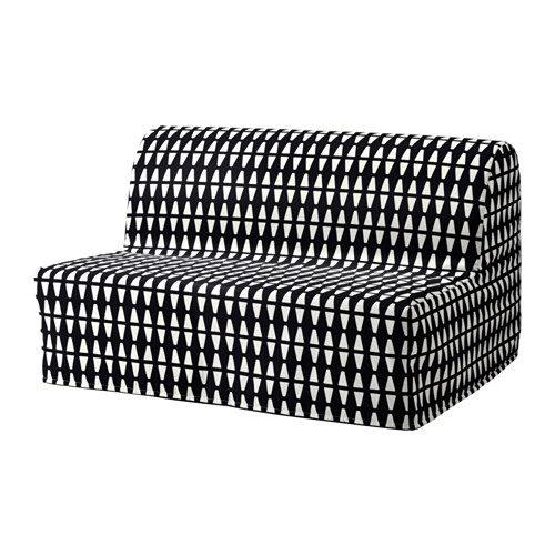 Il divano letto Lycksele a due posti.