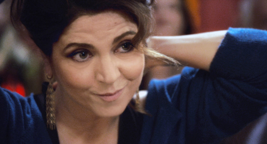 Agnès Jaoui è Aurore, cinquantenne in crisi nel film 50 Primavere.