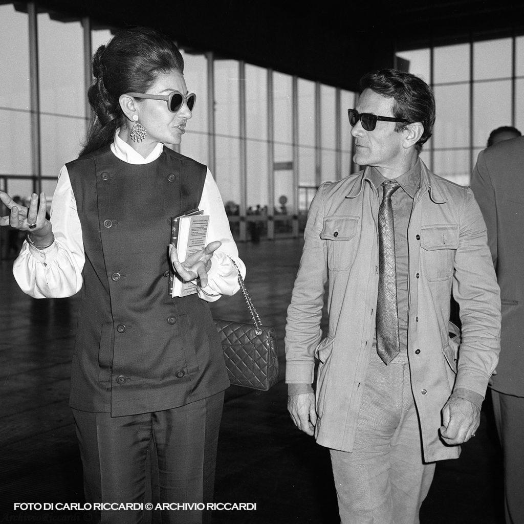 Maria Callas e Pier Paolo Pasolini