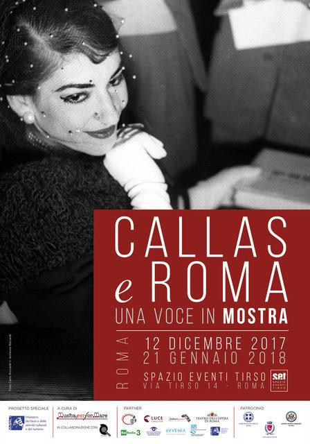 Callas e Roma. Una voce in mostra
