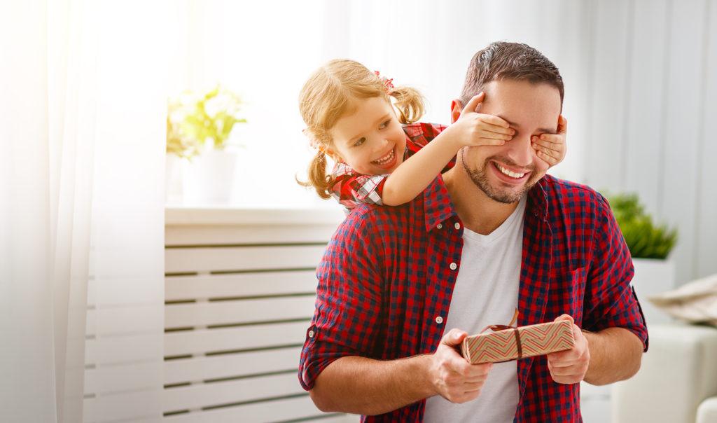 Il più bel dono per il vostro papà siete voi.