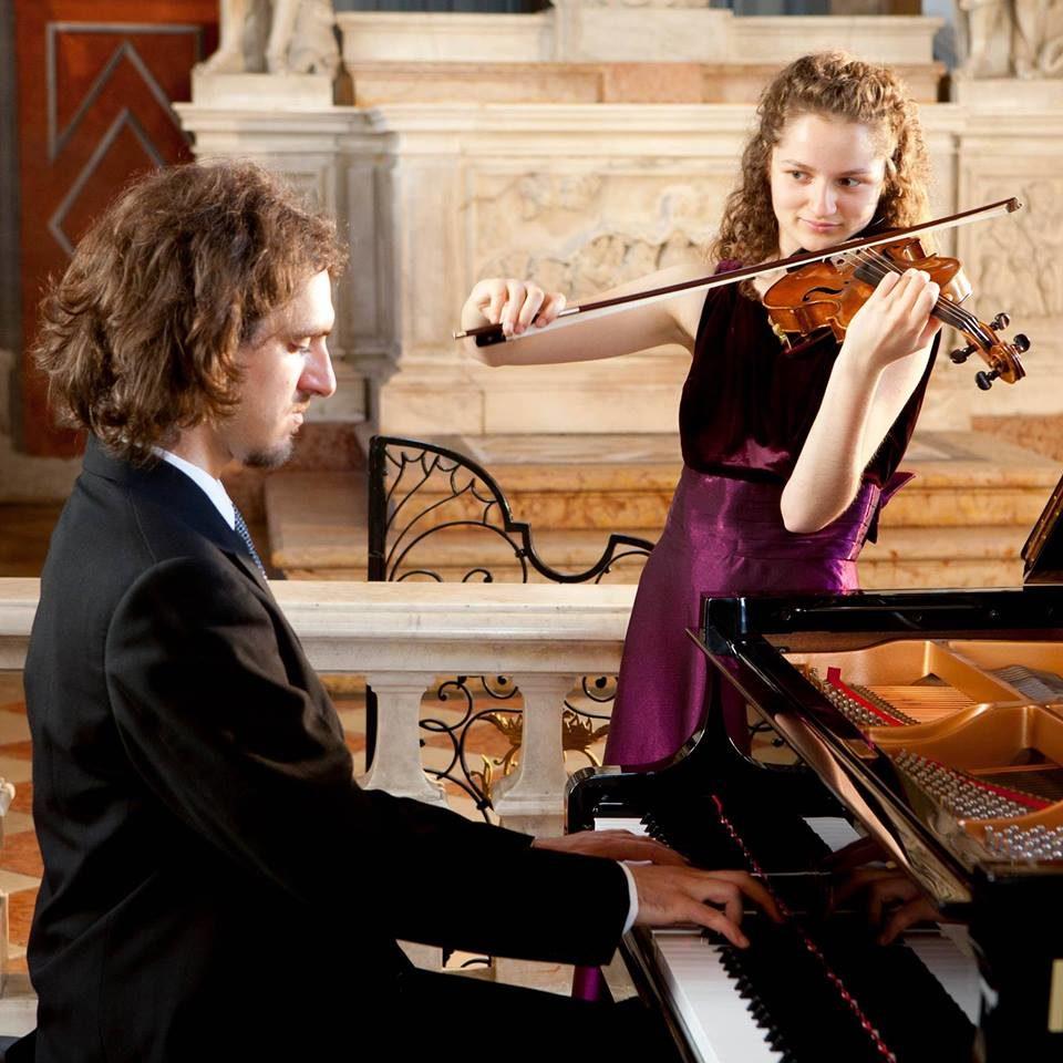 Concerto violino e pianoforte del duo Bartolotto e Andri