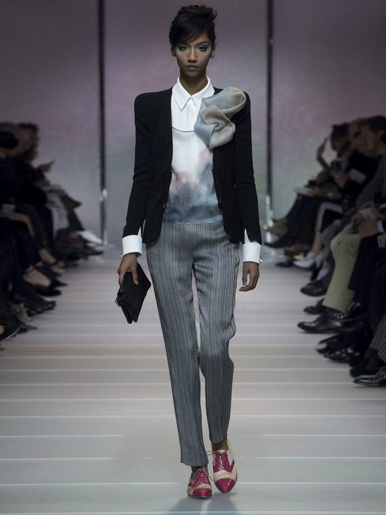 8ec6269121 Giorgio Armani Privé Haute Couture: sfilata Primavera-Estate 2018 ...