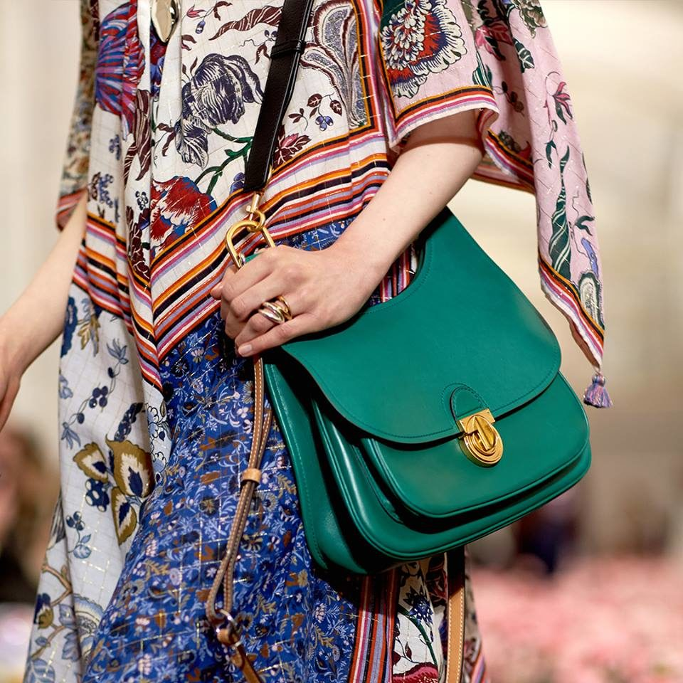 NYFW FW 2018: abito natural style ispirato a Lee Radziwill by Tory Burch.