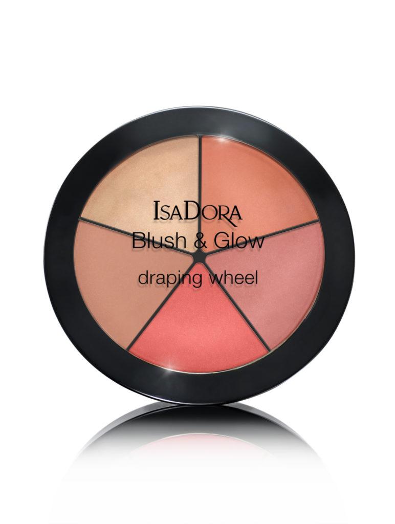 Blush&Glow Draping Wheel di IsaDora, collezione Atelier, 34,80€.