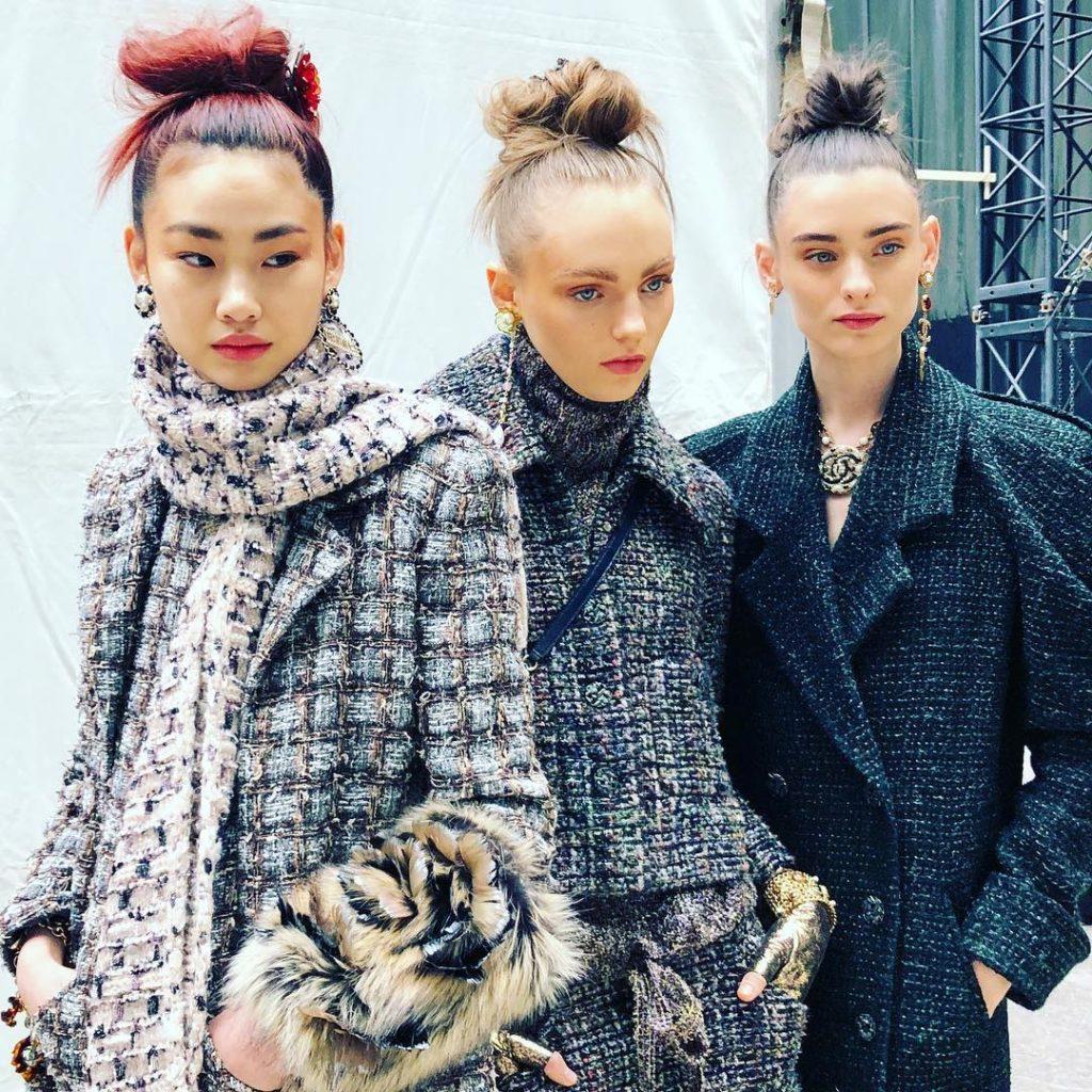 Dalla sfilata Chanel.