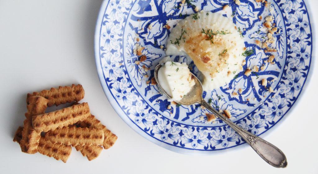 Panna cotta alla Vaniglia con marmellata di Limoni e VittorioGentilini