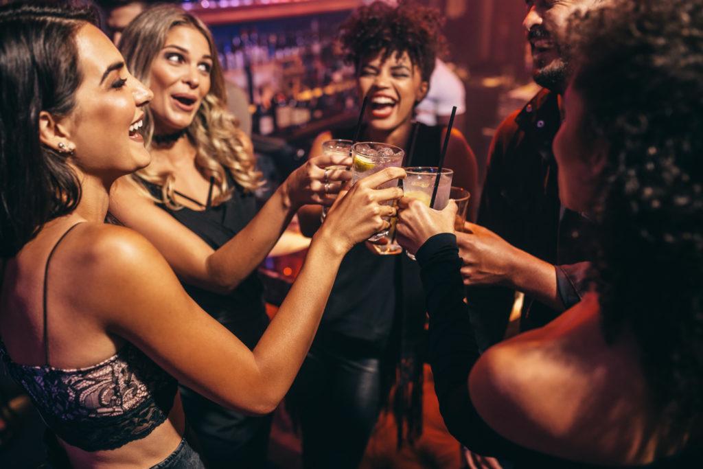 Festa della donna in discoteca