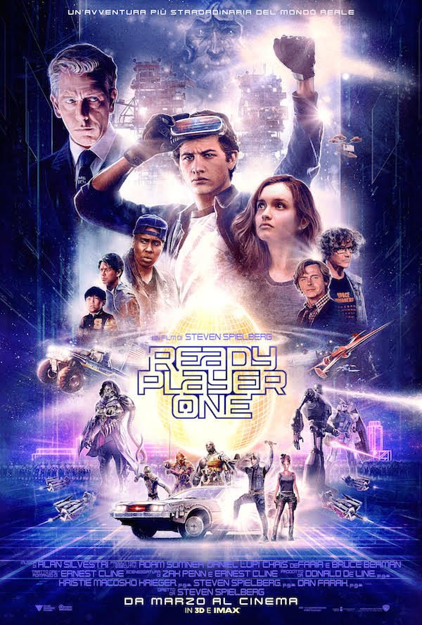 Ready Player One, poster