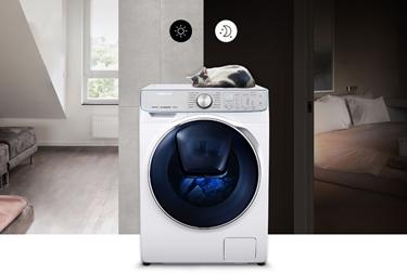 QuickDrive è silenziosa per poter lavare sia di giorno che di notte