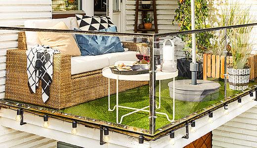 Terrazzo moderno: 10 idee per un angolo relax con i fiocchi