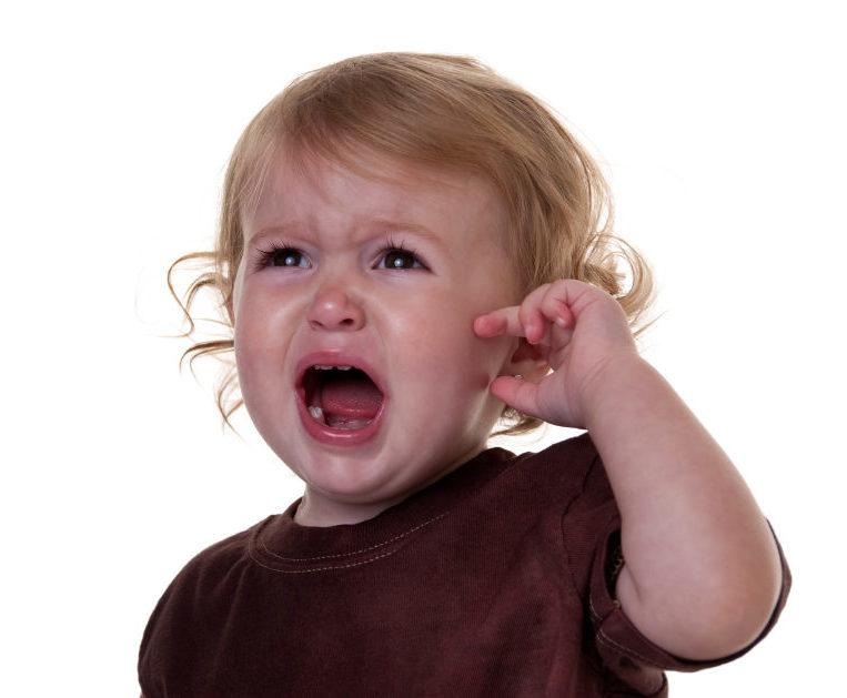 mal d'orecchio bambini
