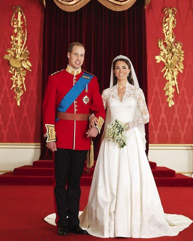 Kate Middleton il giorno delle nozze