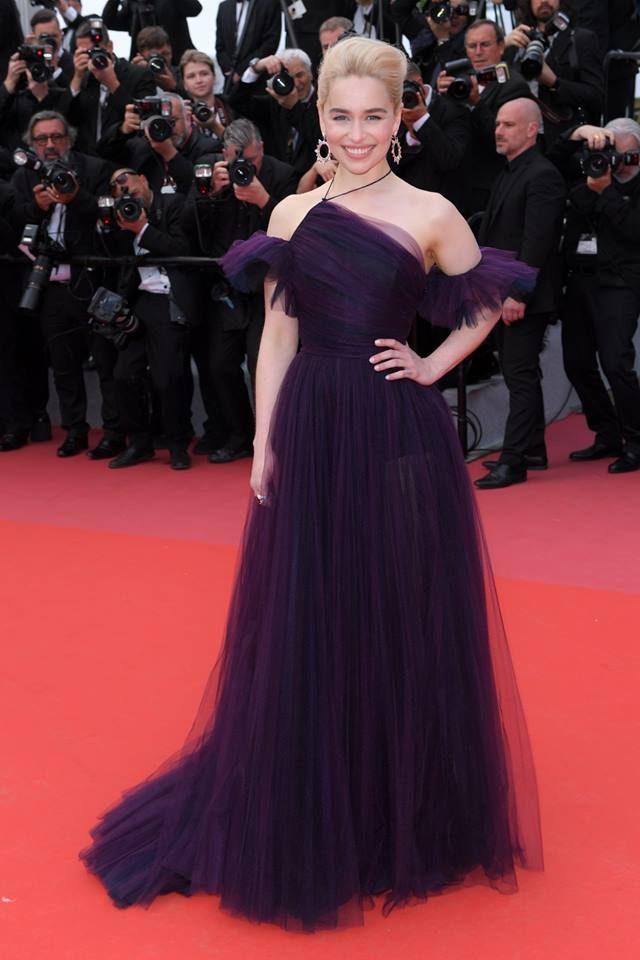 Emilia Clarke in Dior Haute Couture