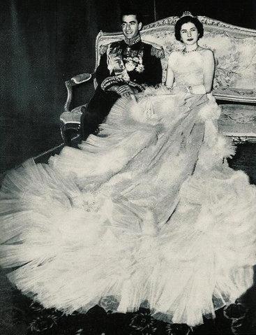 La regina Soraya dell'Iran