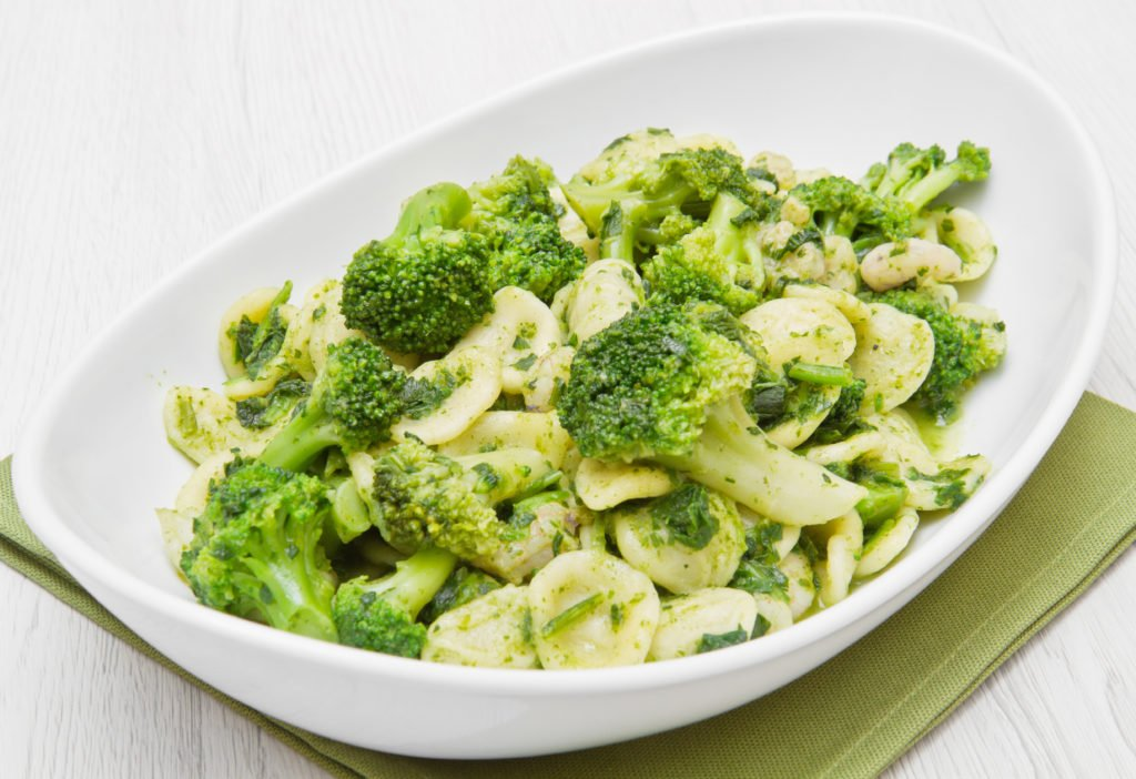 Pasta e broccoli alla romana.