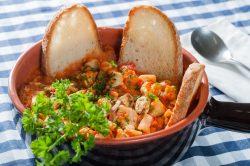 Zuppa di pesce alla Livornese