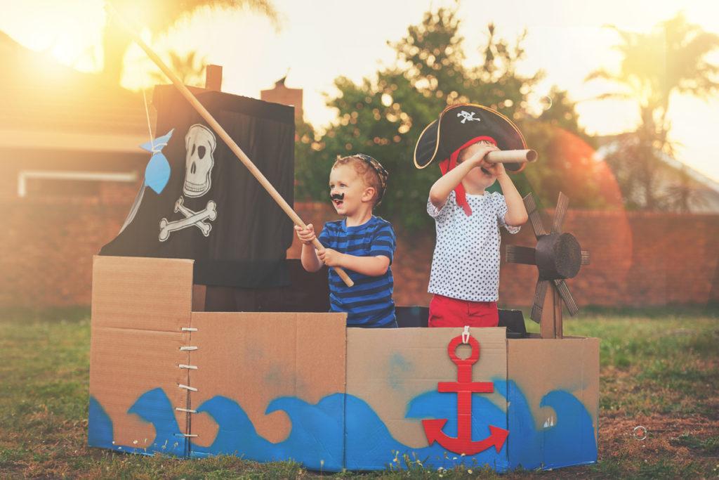 Giochi per bambini: nulla di meglio che giocare all'aria aperta!