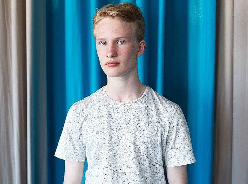 Victor Polster, il sedicenne interprete di Lara nel film Girl.