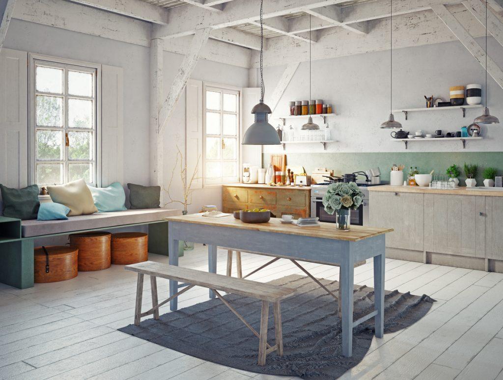 Raddoppiare gli spazi in cucina