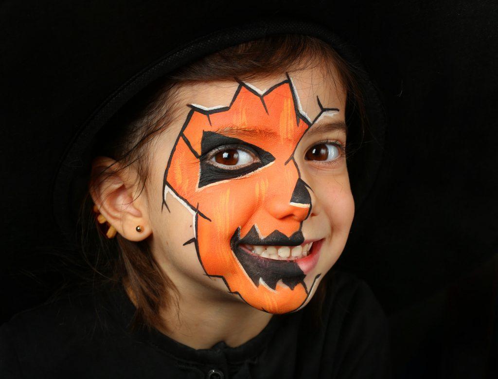 Trucco Halloween per bambini