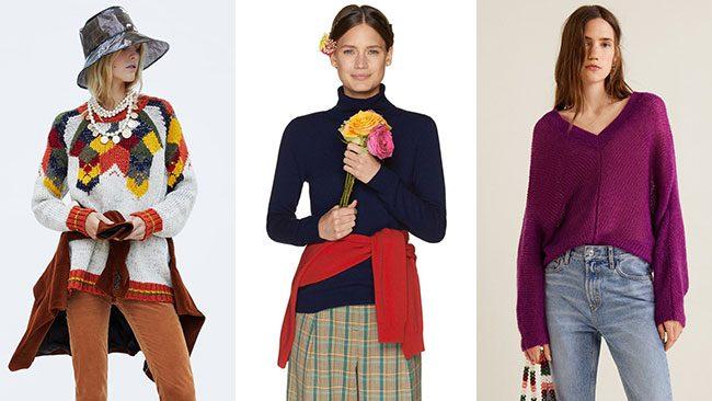 Pullover: i trend per un inverno caldo.