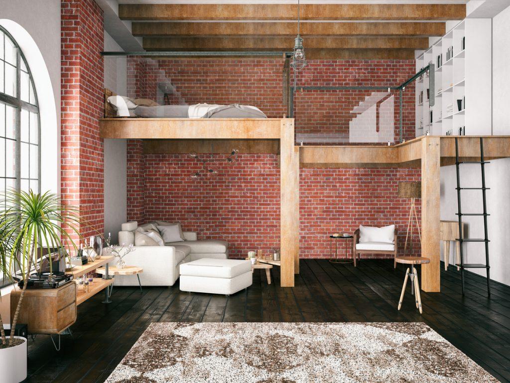 Idee Per Soppalco In Legno soppalco: in legno, in ferro quale scegliere | unadonna