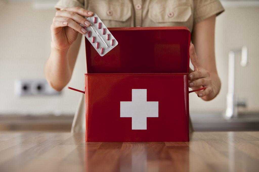 Cassetta del pronto soccorso
