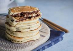 Pancake ripieno di nutella