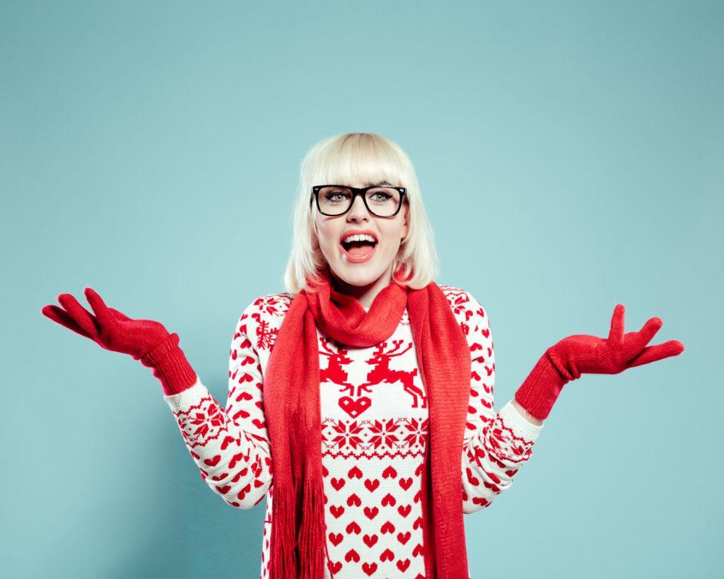 Christmas jumper donna: i più originali del 2018