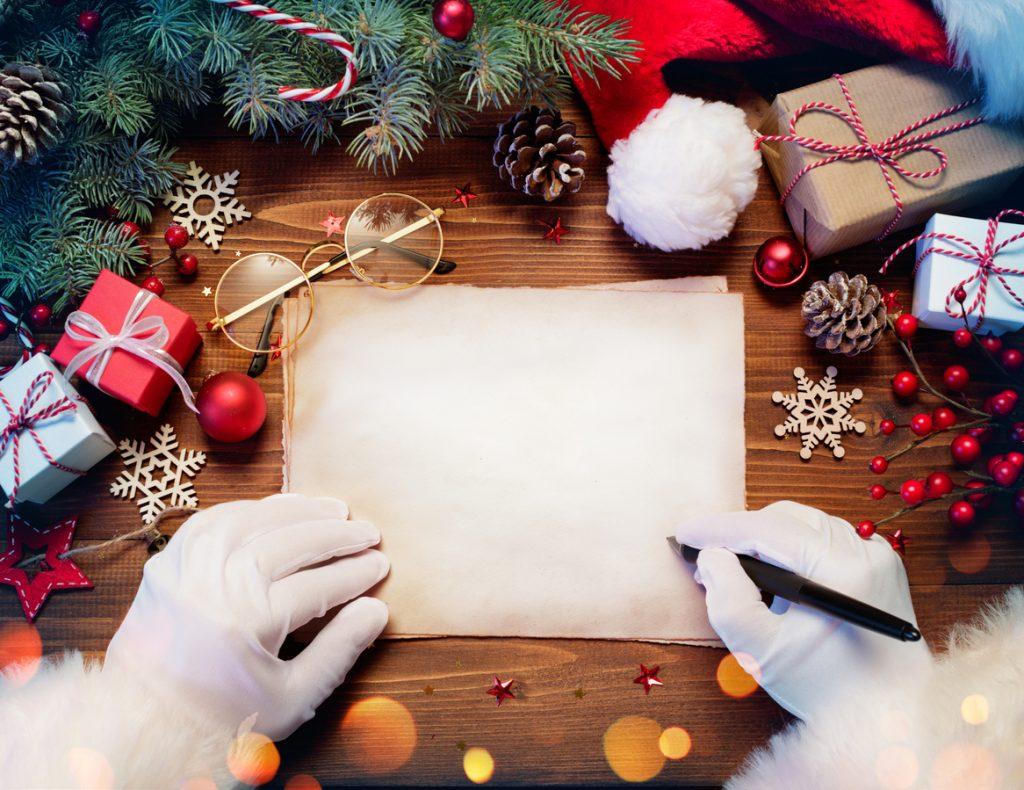 Come personalizzare i vostri biglietti di auguri di Natale.