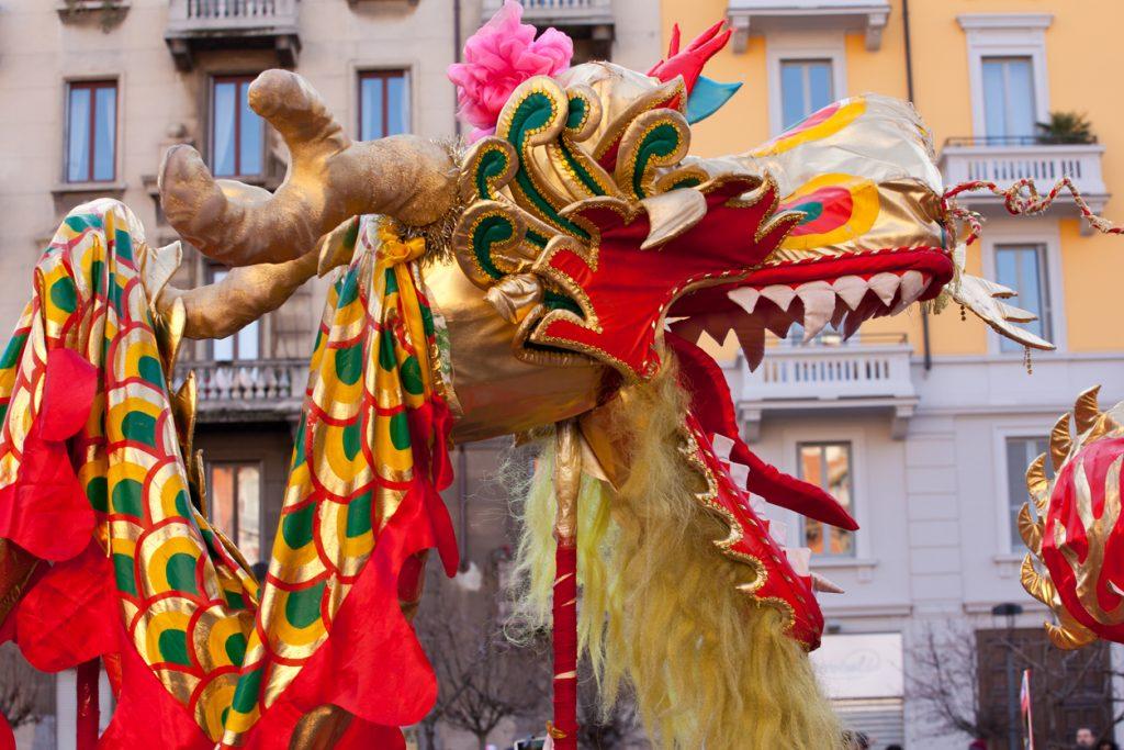 Capodanno cinese, parate in Italia