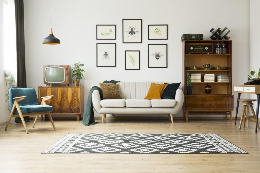 Tappeti: come scegliere i più adatti per il soggiorno