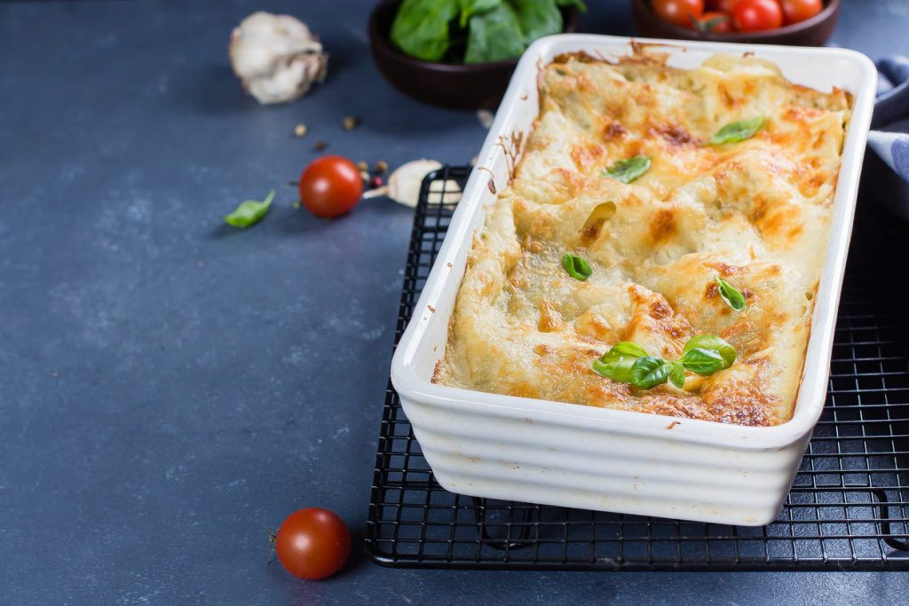 Lasagne radicchio e salsiccia