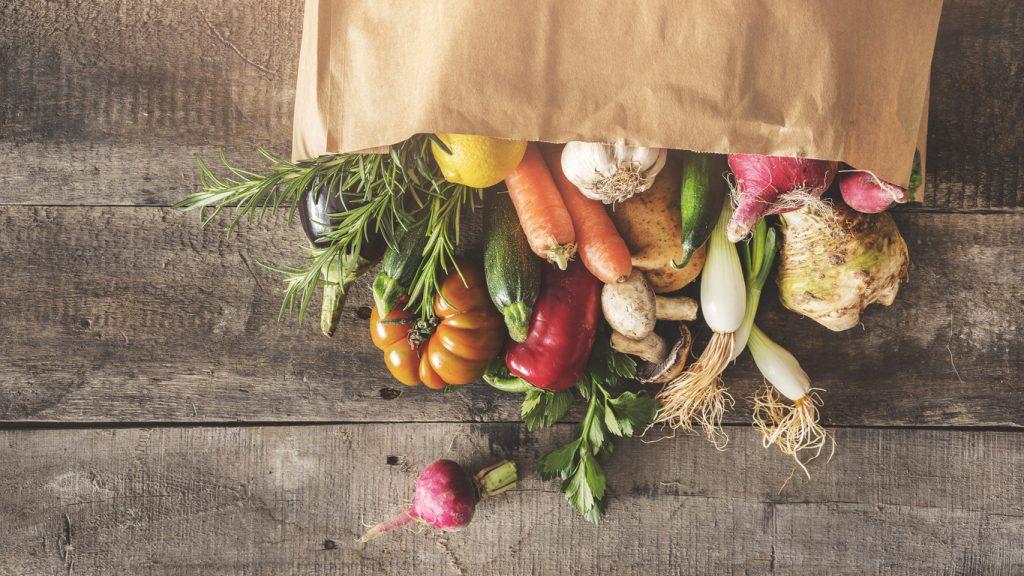 Frutta e verdura ideali per la crescita
