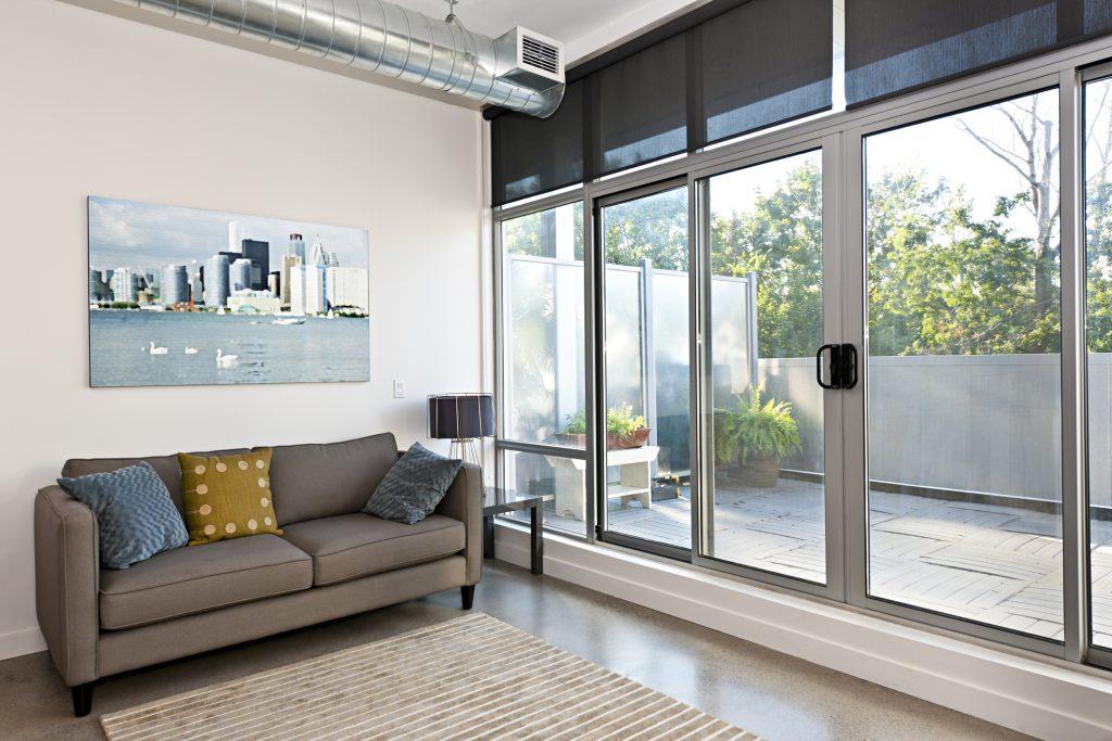 Living room moderna