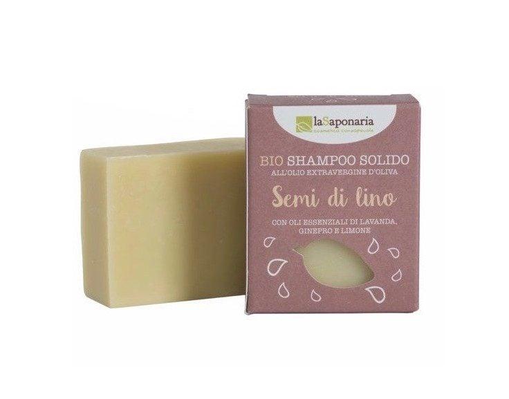 Linseed solid Shampoo bar