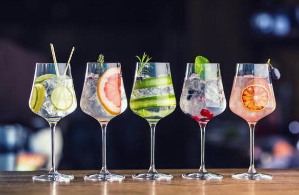 Cocktail analcolici alla frutta semplici