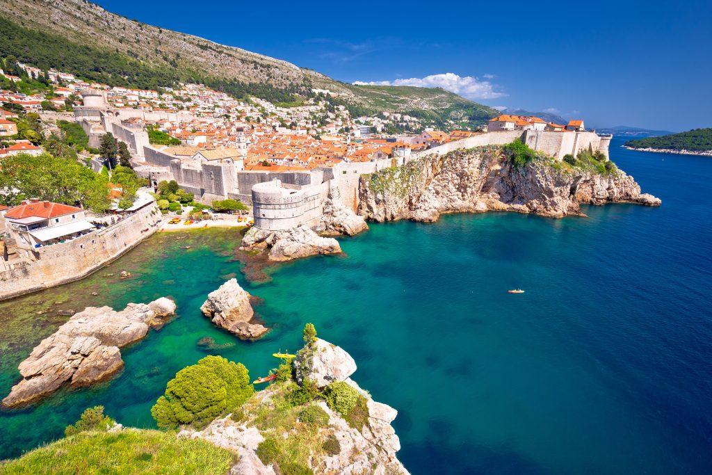 Città medioevale di Dubrovnik.