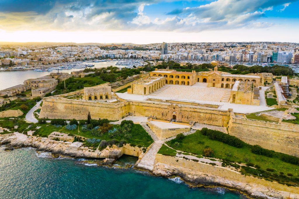Fort Manoel a Malta.