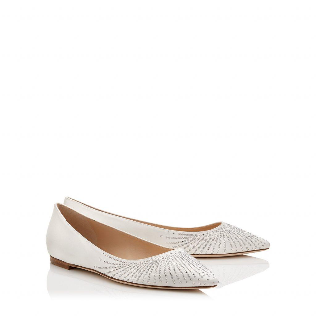 buy popular 2b09a 6c752 Ballerine e kitten heels: il trend delle scarpe da sposa ...