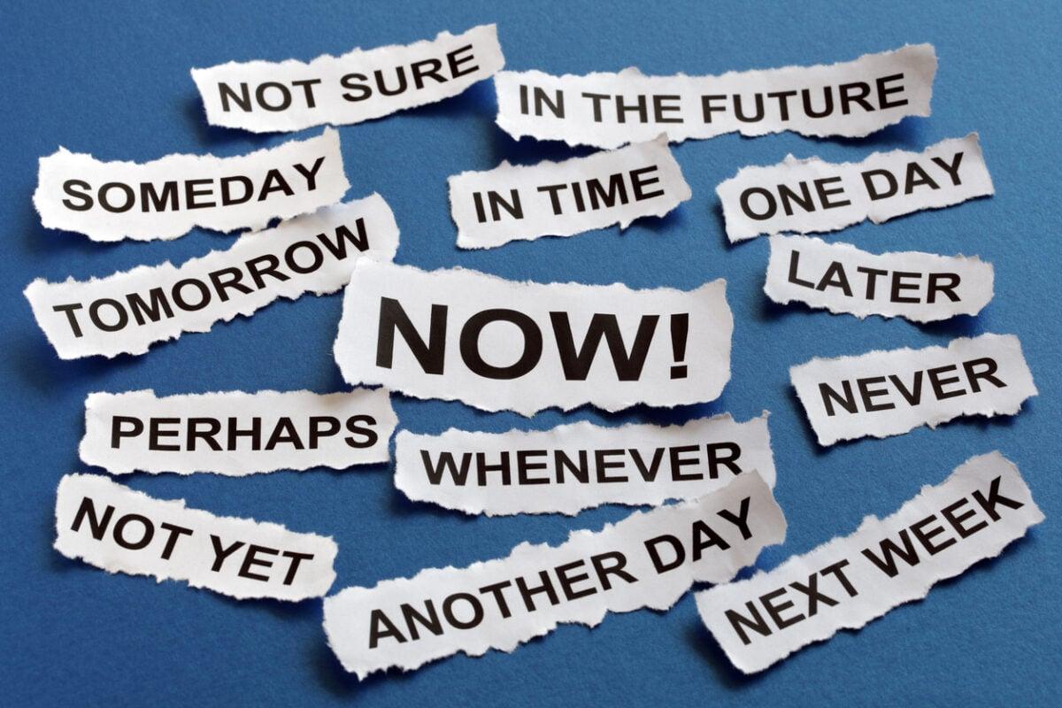 L'arte del procrastinare, ovvero perché rimandiamo tutto quello che possiamo